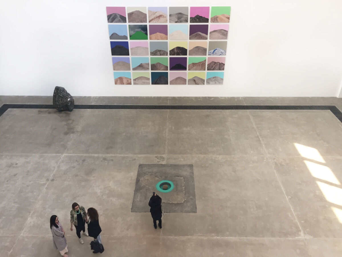 "Installation view of ""Zhuang Hui: Qilian Range"" at Galleria Continua."