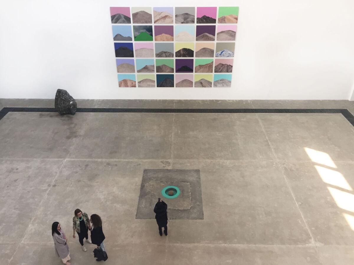 "Installation view of ""Zhuang Hui: Qilian Range"" at Galleria Continua."