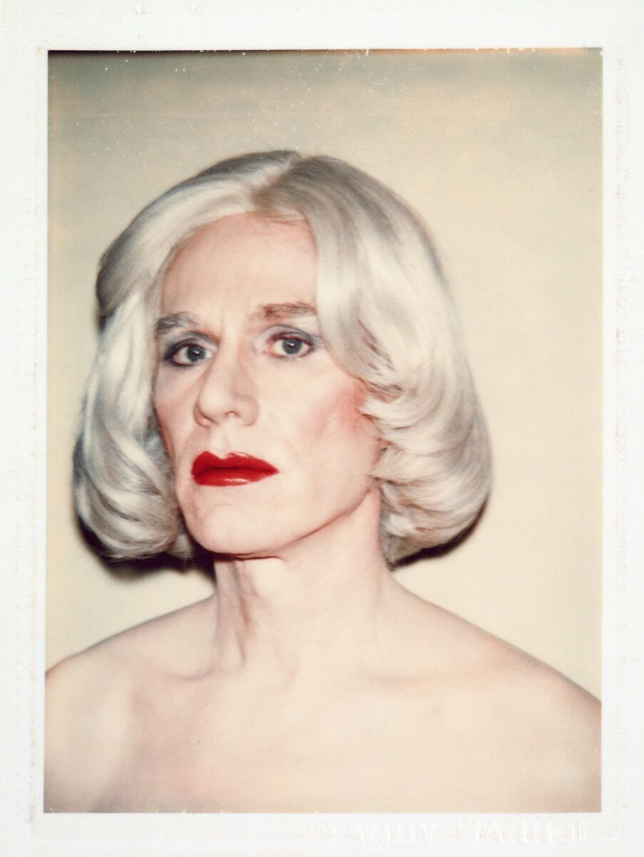 Andy Warhol, Self-Portrait in Drag, 1981. Solomon R Guggenheim Museum, New York. © 2018 The Andy Warhol Foundation for the Visual Arts, Inc./Artists Rights Society (ARS), New York.