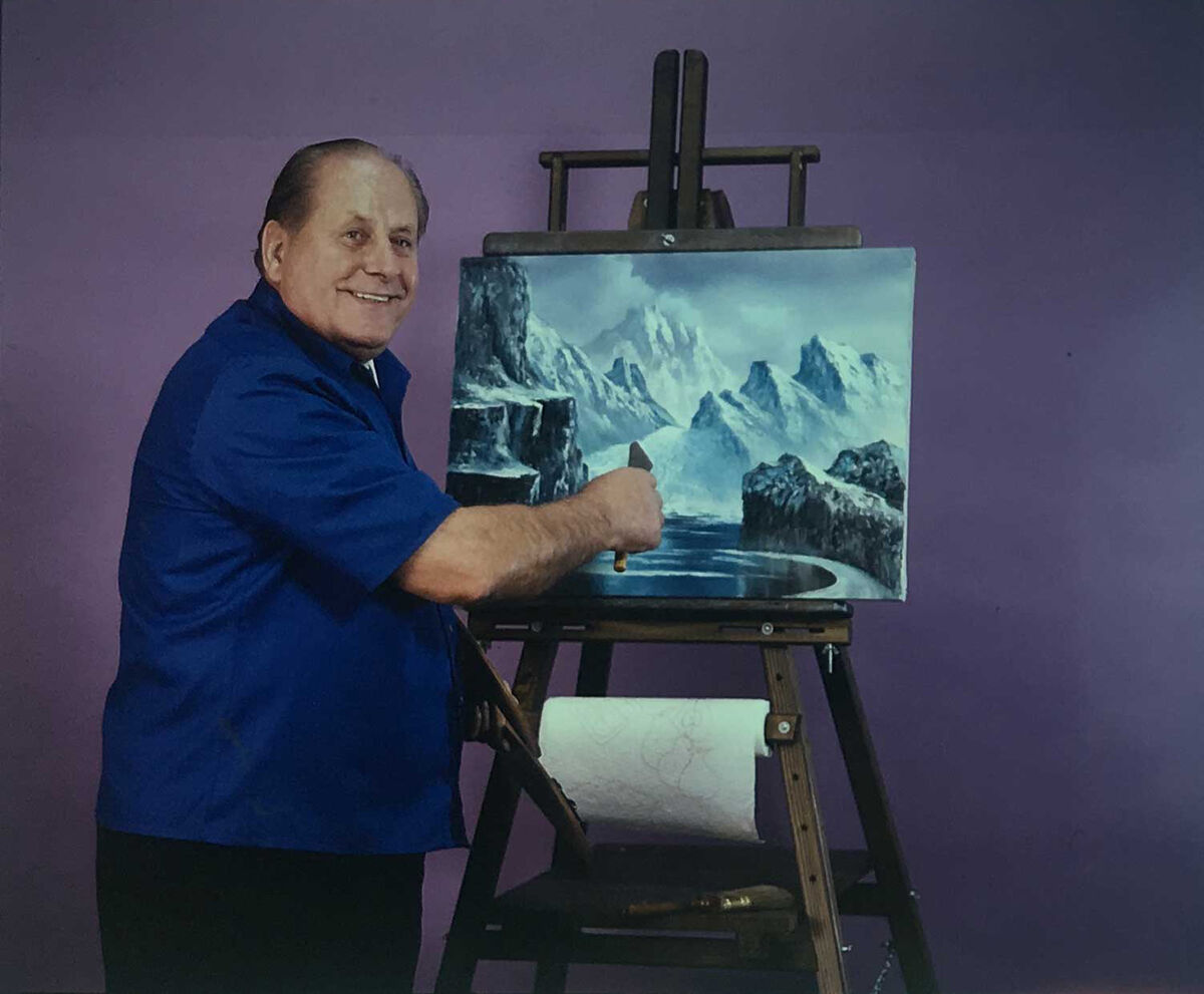 Still from The Magic of Oil Painting, 1974-1982. Courtesy of Alexander Art.