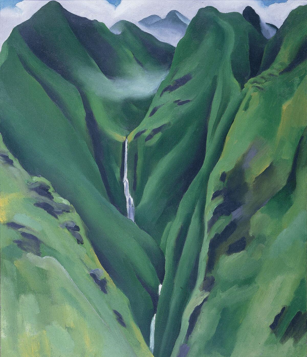 Saw This Faux Georgia Okeeffe Painting >> Georgia O Keeffe S Missing Hawaiian Painting Hibiscus Resurfaces