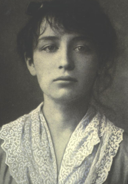 Portrait of Camille Claudel via Wikimedia Commons.