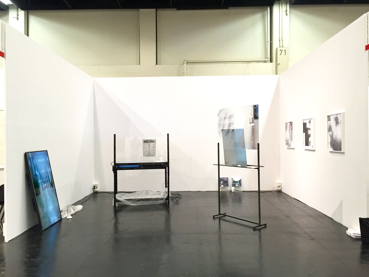 Installation view of Supplement's booth at Art Cologne, 2016. Photo courtesy of Supplement.