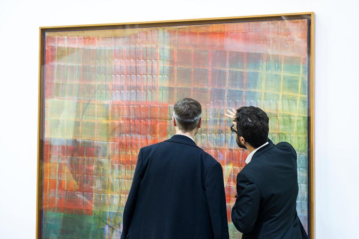 Work by Tancredi Parmeggiani at Artissima, 2015. Photo courtesy ofGiorgio Perottino and Filippo Alfero.