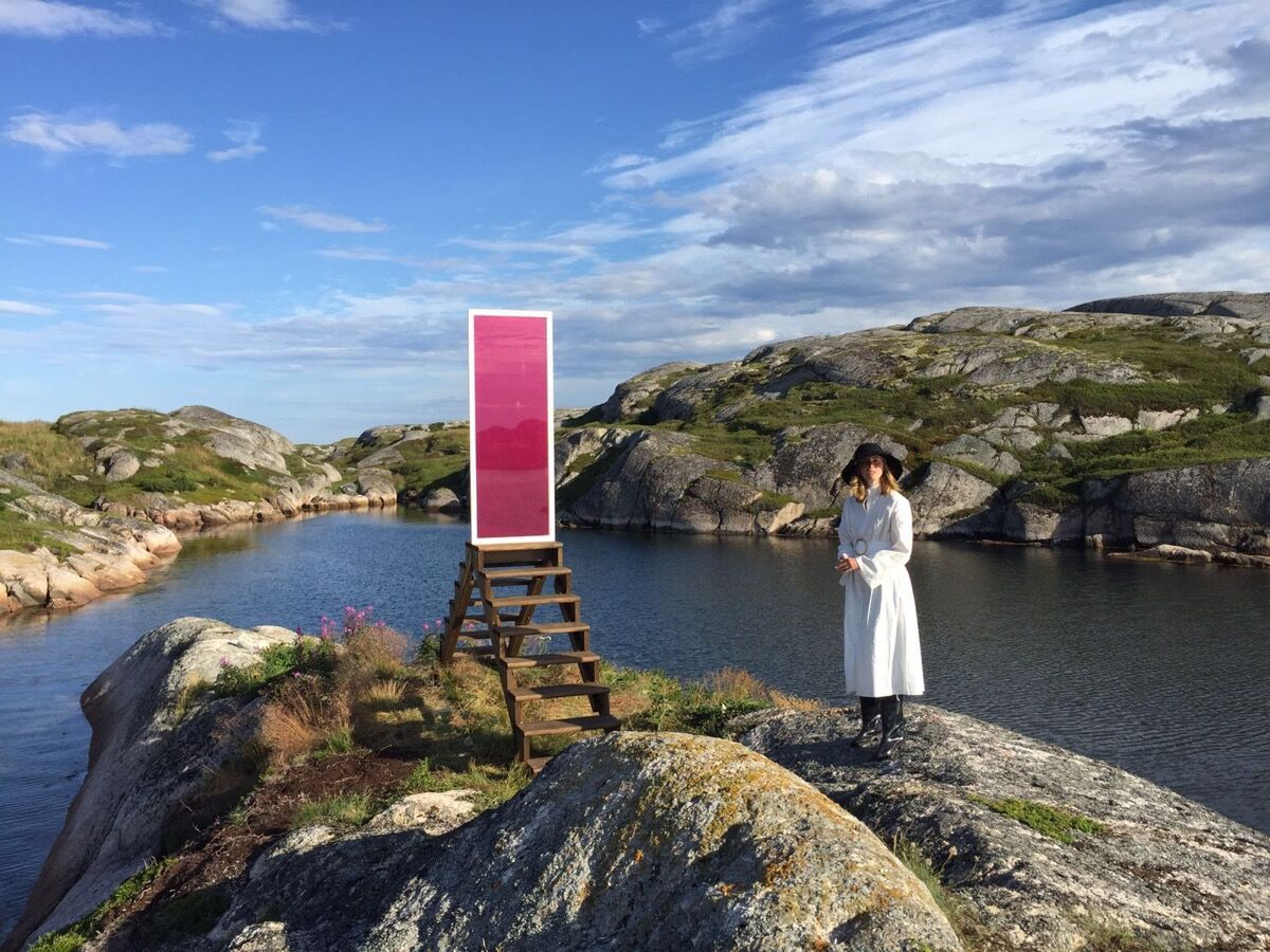 Rachel Monosov, Impossible Meeting Point, Newfoundland, 2016. © Catinca Tabacaru and CTG Collective.