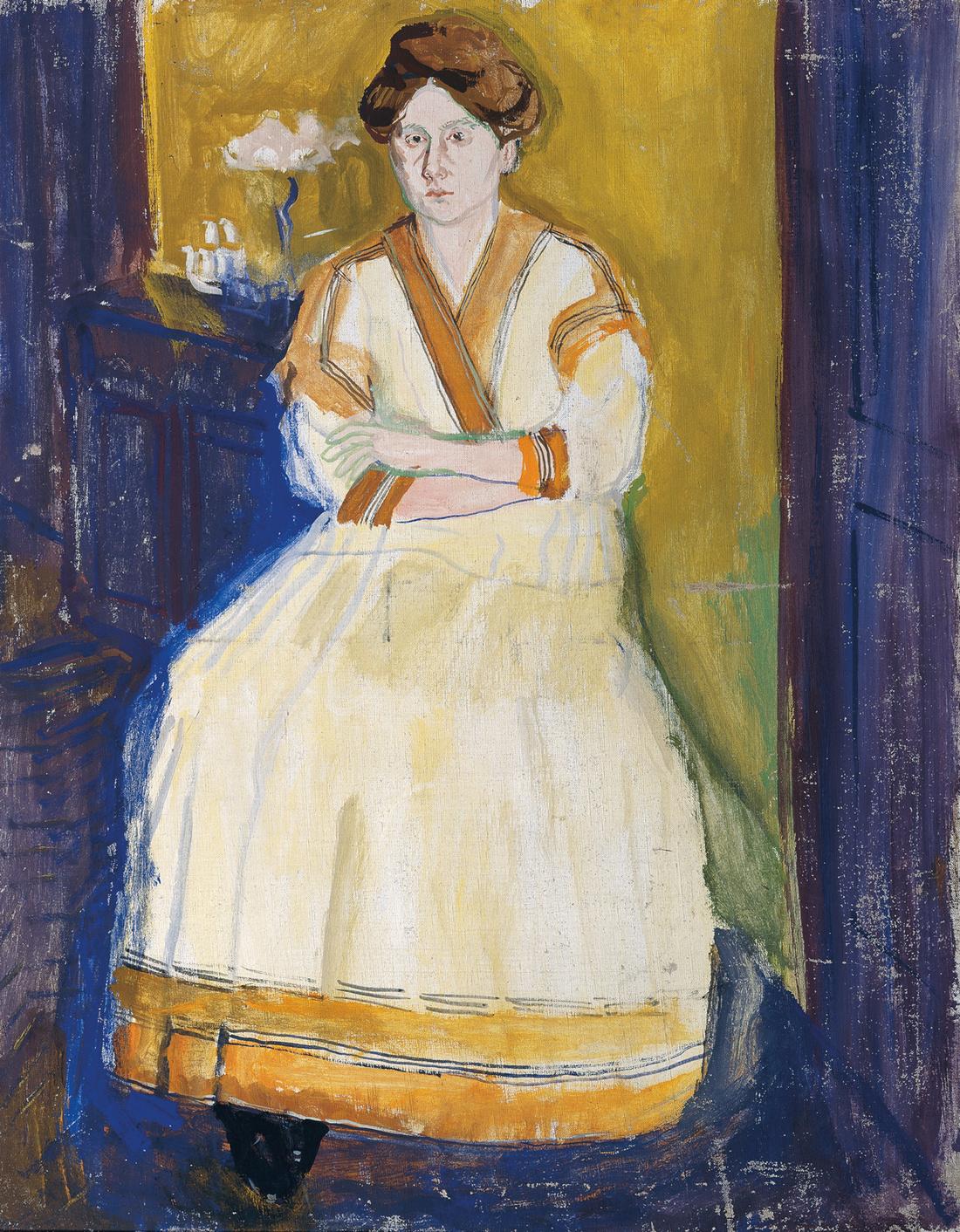 Gerstl, Mathilde Schönberg. Courtesy of Belvedere, Vienna.