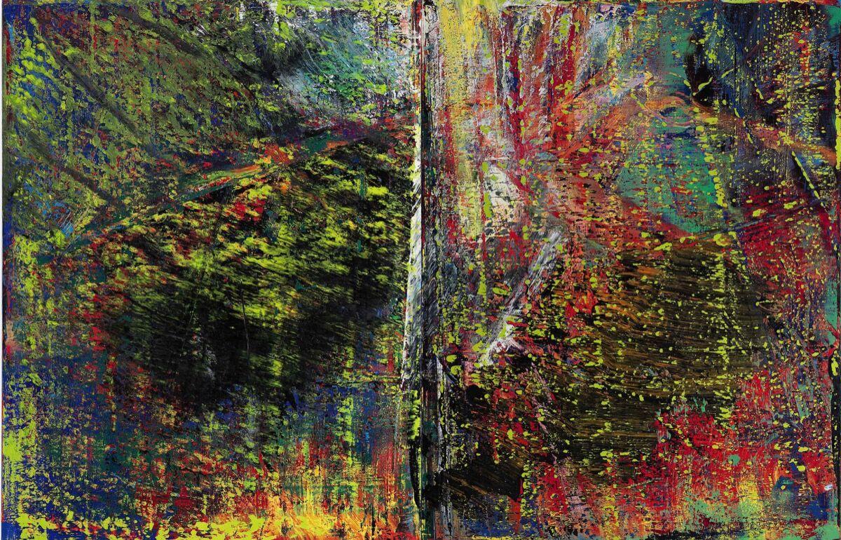 Gerhard Richter, Abstraktes Bild , 1987. Courtesy of Sotheby's.