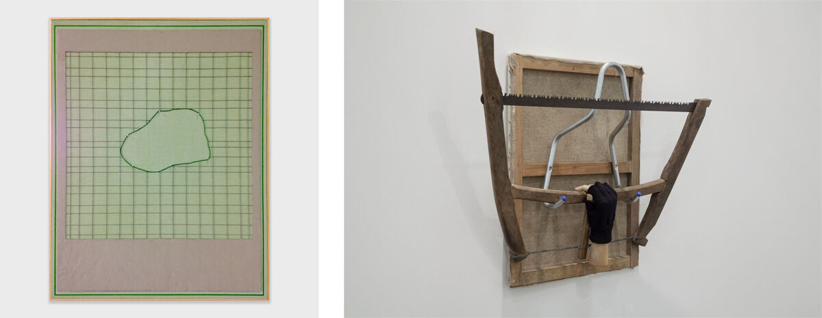 Left: Rodrigo Cass, O Revelador, 2016; Right: Rodrigo Matheus, Grasp, 2015. Images courtesy of Fortes d'Aloia & Gabriel.
