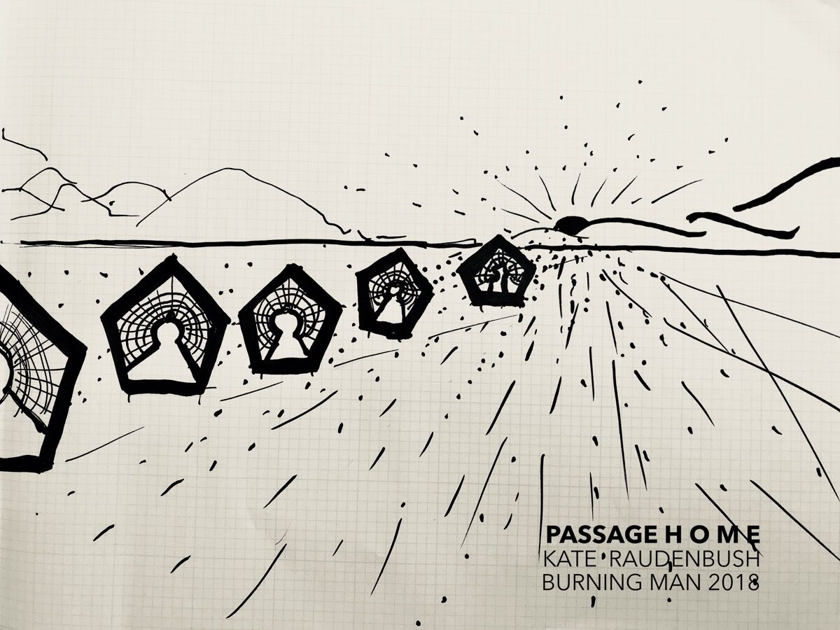 Kate Raudenbush, Passage Home, 2018. Courtesy of the artist.