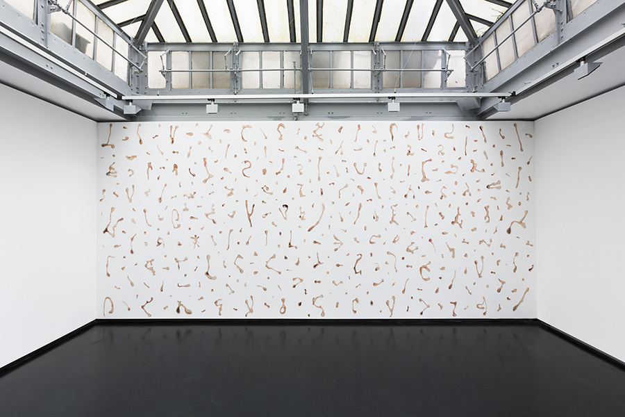 "Installation view of Rollin Leonard's ""New Portraiture"" courtesy of XPO Gallery."