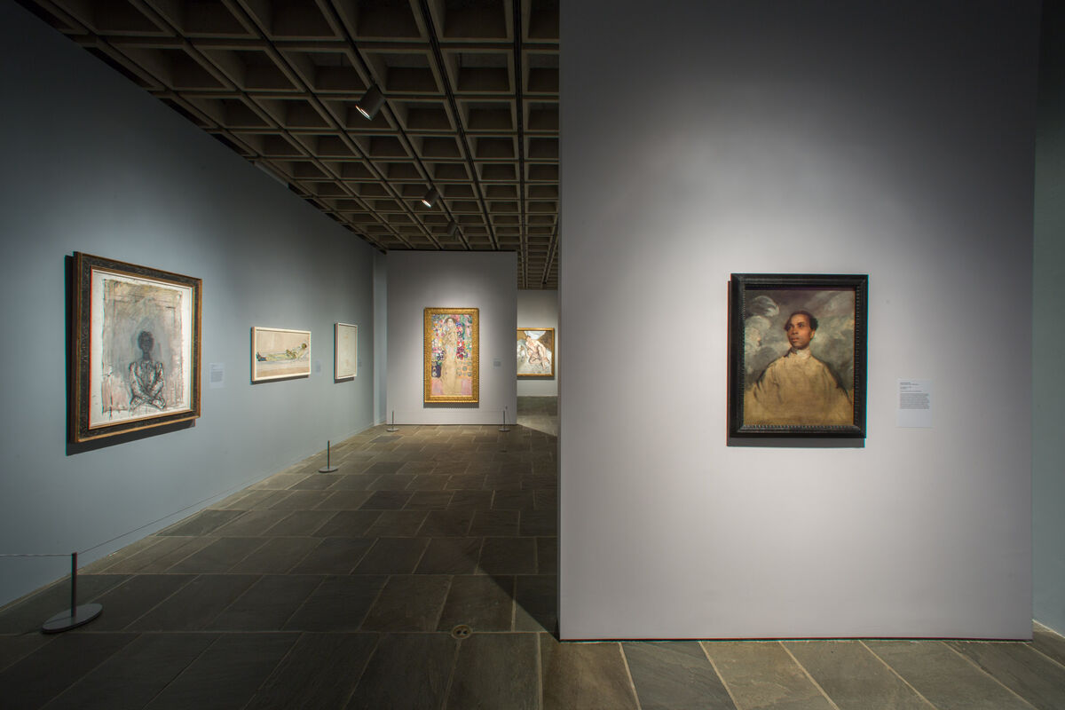 "Installation view of ""Unfinished: Thoughts Left Visible"" at the Met Breuer. Photo © The Metropolitan Museum of Art 2016."