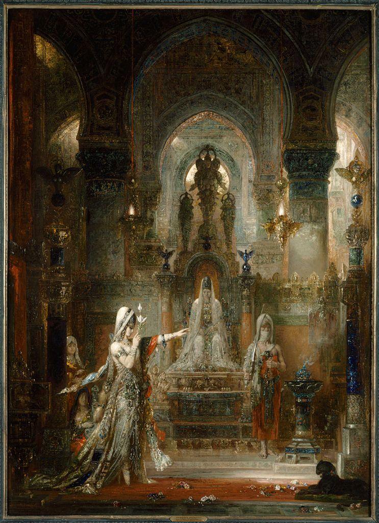 Gustave Moreau, Salome Dancing before Herod, 1876. Image via Wikimedia Commons.