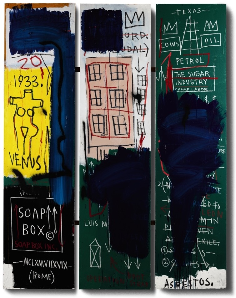 Jean-Michel Basquiat, Untitled, 1983. Courtesy of Sotheby's.