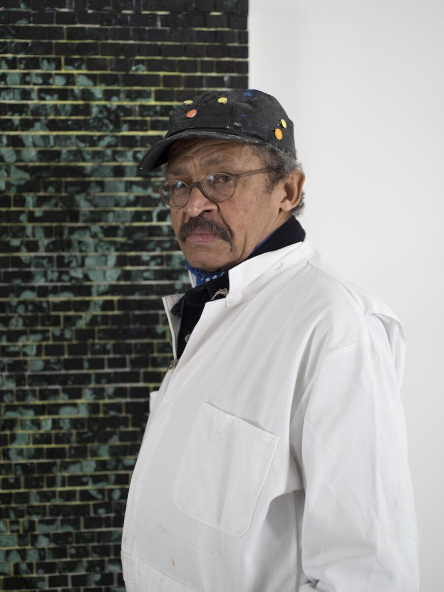 Portrait of Jack Whitten by John Berens. © Jack Whitten. Courtesy of the artist and Hauser & Wirth.
