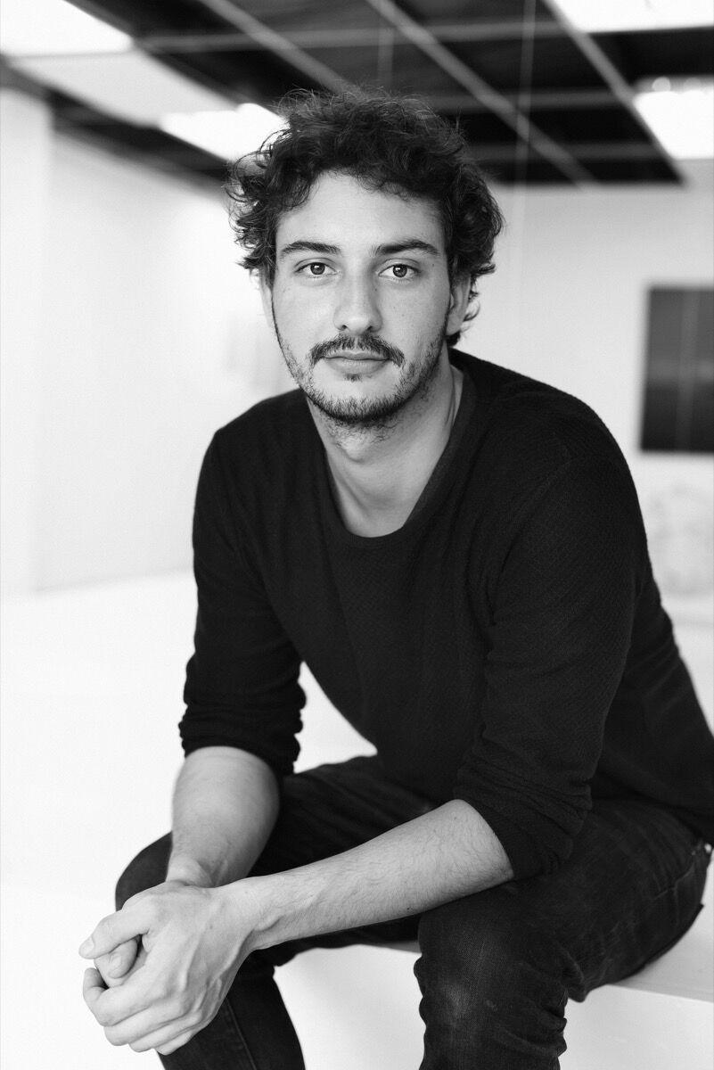 Portrait of Sandino Scheidegger. Photo by Maripaz Howell. Courtesy of Sandino Scheidegger.