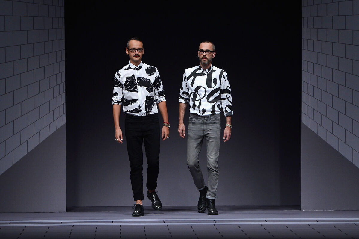 Viktor Horsting and Rolf Snoeren, 2013. Photo by Pascal Le Segretain via Getty Images.