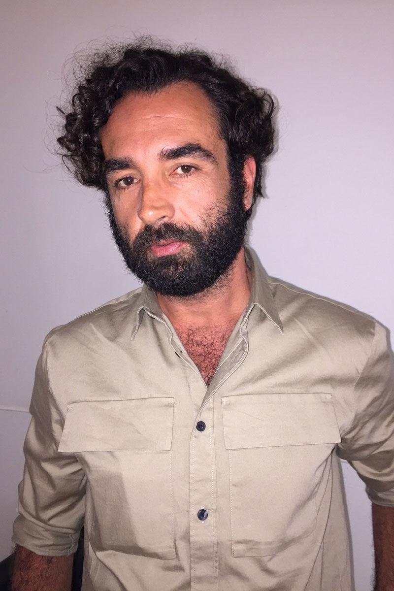 Portrait of Bernardo José de Souza. Courtesy of Bernardo José de Souza.