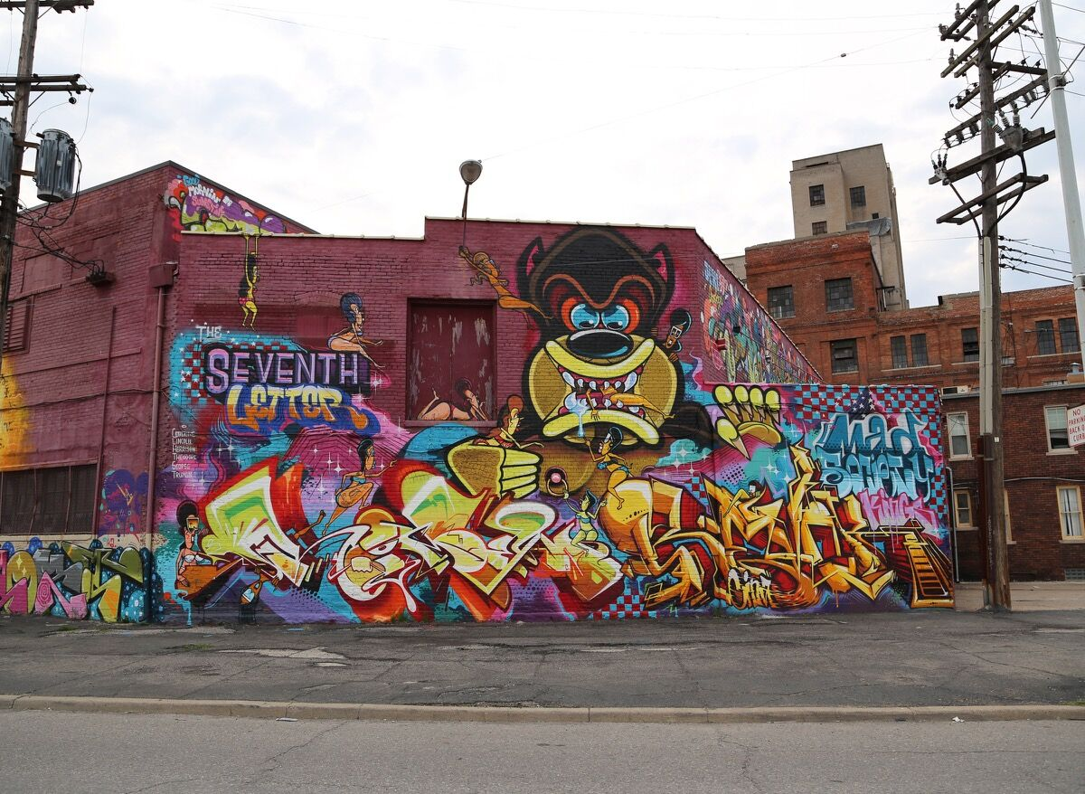Graffiti art by REVOK Photo by Carnage NYC, via Flickr