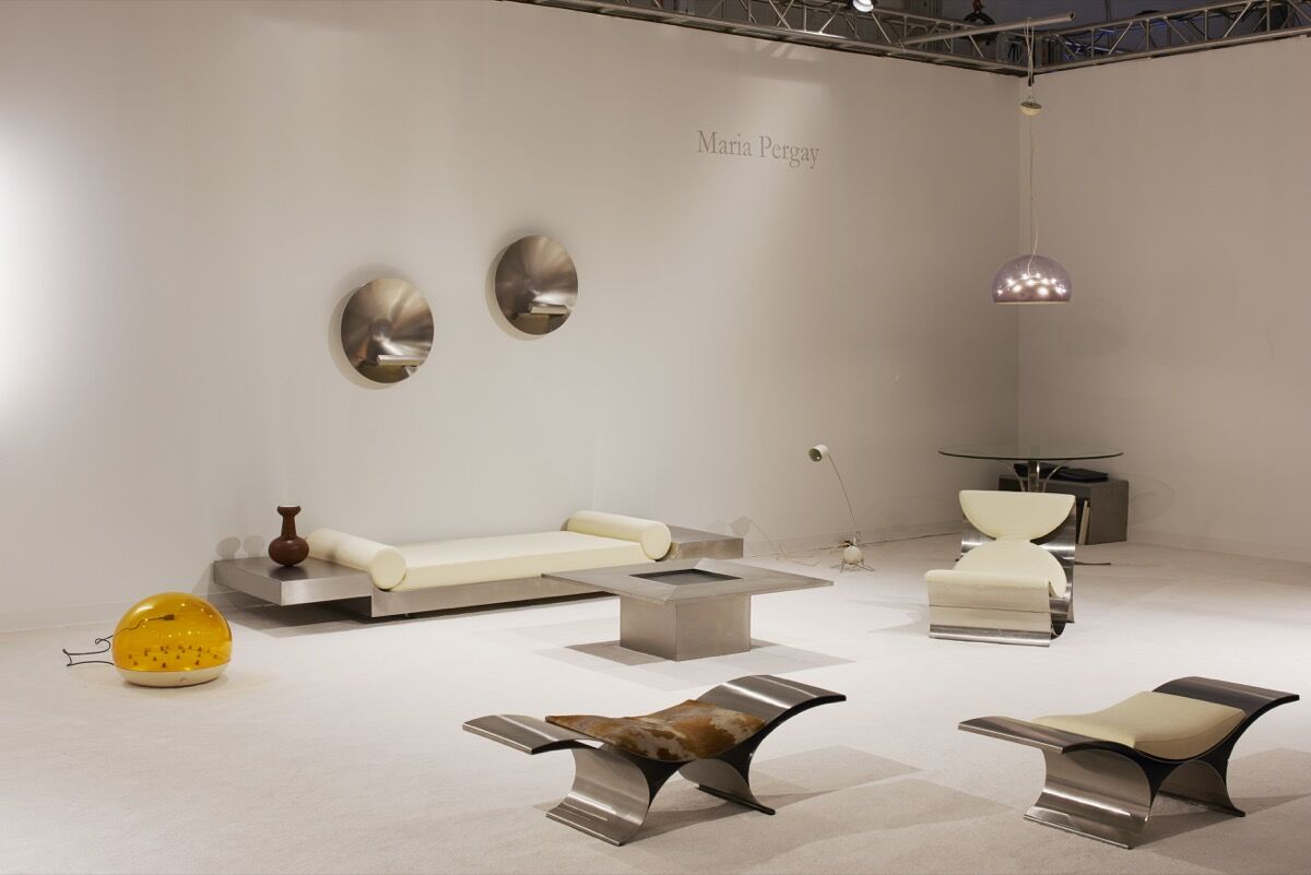 Installation view of Jousse Enterprise's booth at Design Miami/, 2016. Photo by James Harris, courtesy of Design Miami/.