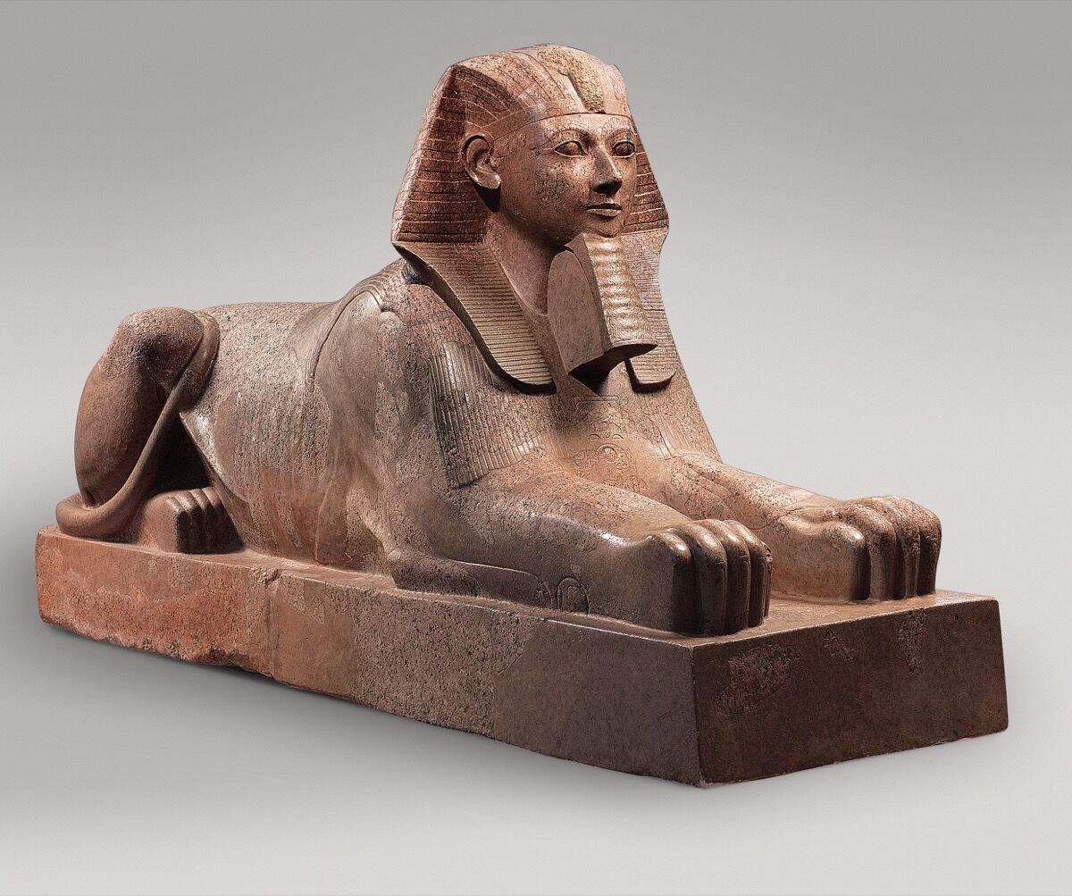 Sphinx of Hatshepsut, ca. 1479–1458 B.C. Courtesy of the Met.