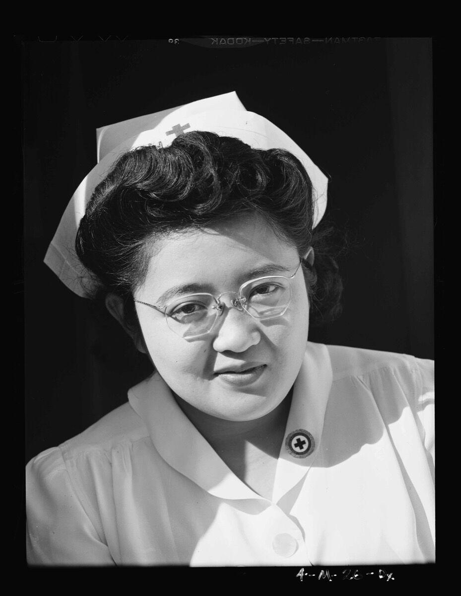 Ansel Adams, Catherine Natsuko Yamaguchi, from the series Manzanar, 1943. Courtesy Library of Congress.