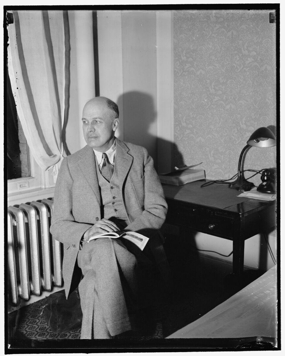 Harris & Ewing, Edward Hopper, New York artist, ca. 1937