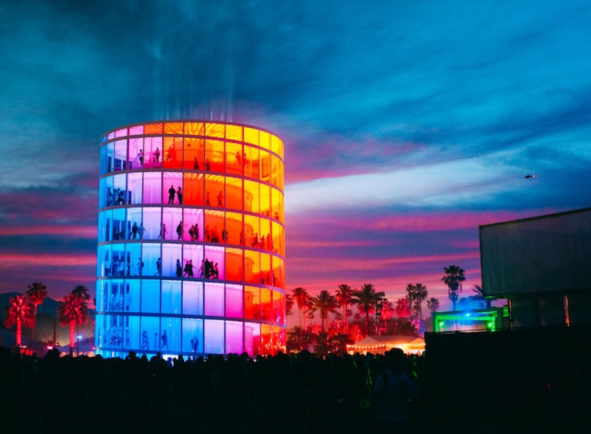 Installation view of Spectra Pavilion. Photo by Miles George. Courtesy of NEWSUBSTANCE.