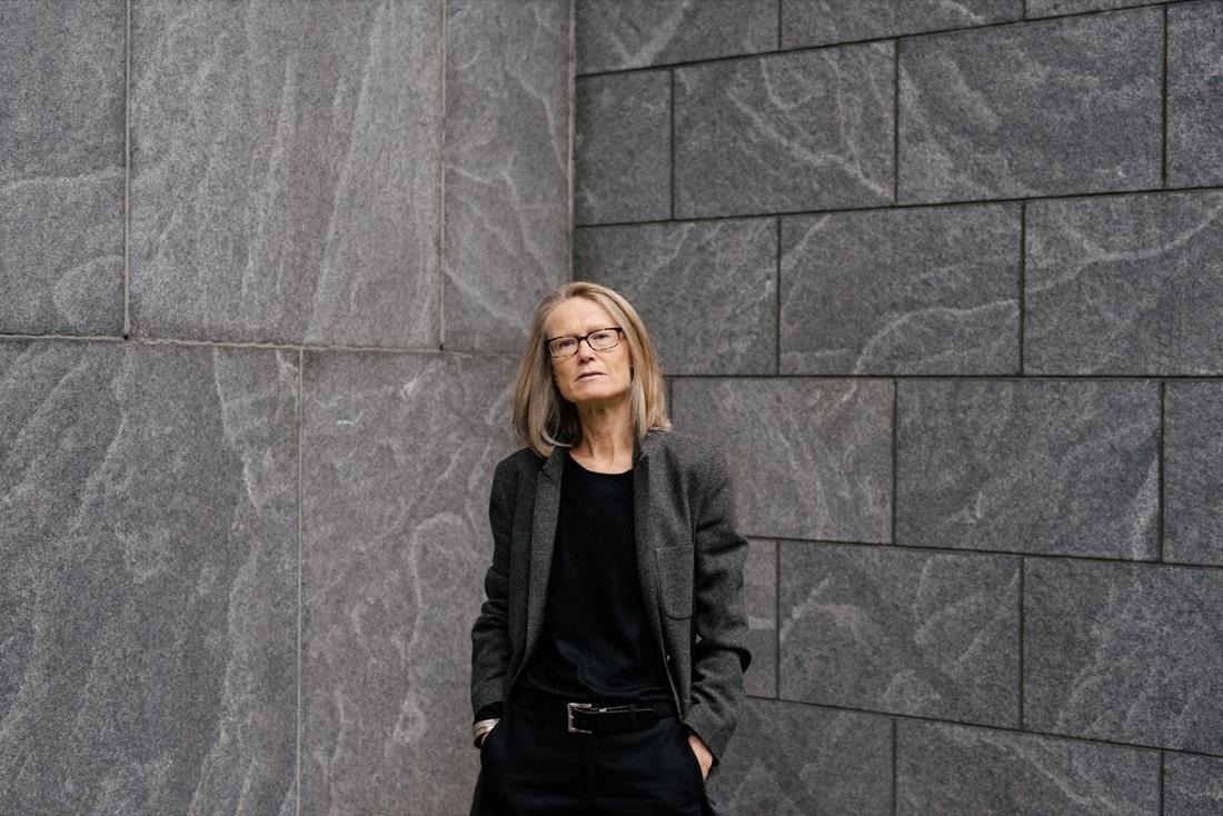 Portrait of Sheena Wagstaff at the Met Breuer by Daniel Dorsa for Artsy.