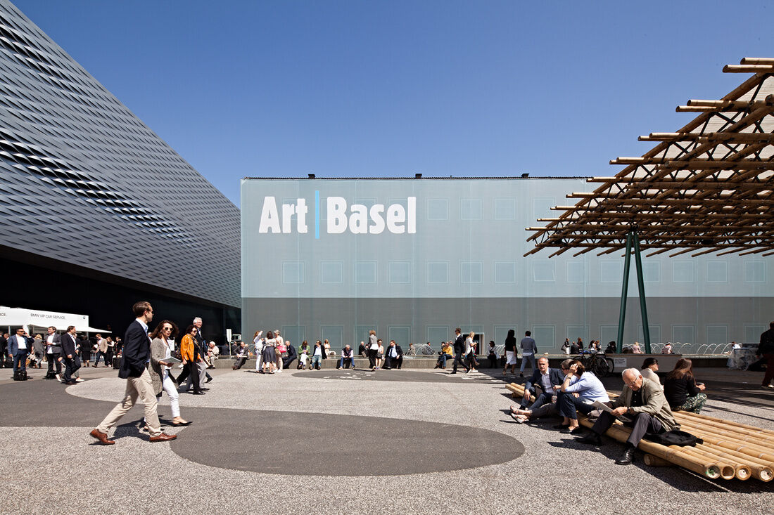 Art Basel in Europe, 2015. Photo by Alec Bastian for Artsy.