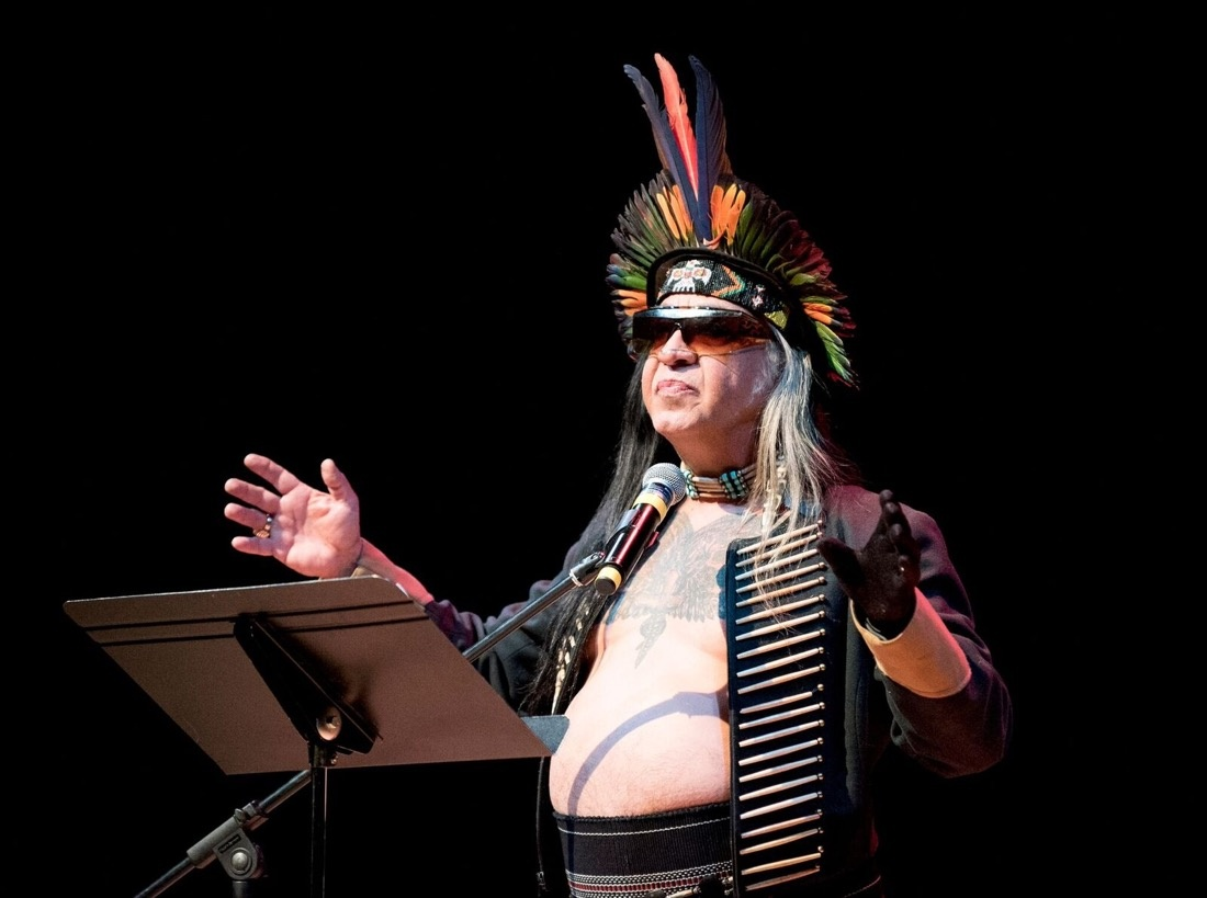 Photograph by Jason S. Ordaz, courtesy of the Institute of American Indian Arts (IAIA), 2015.