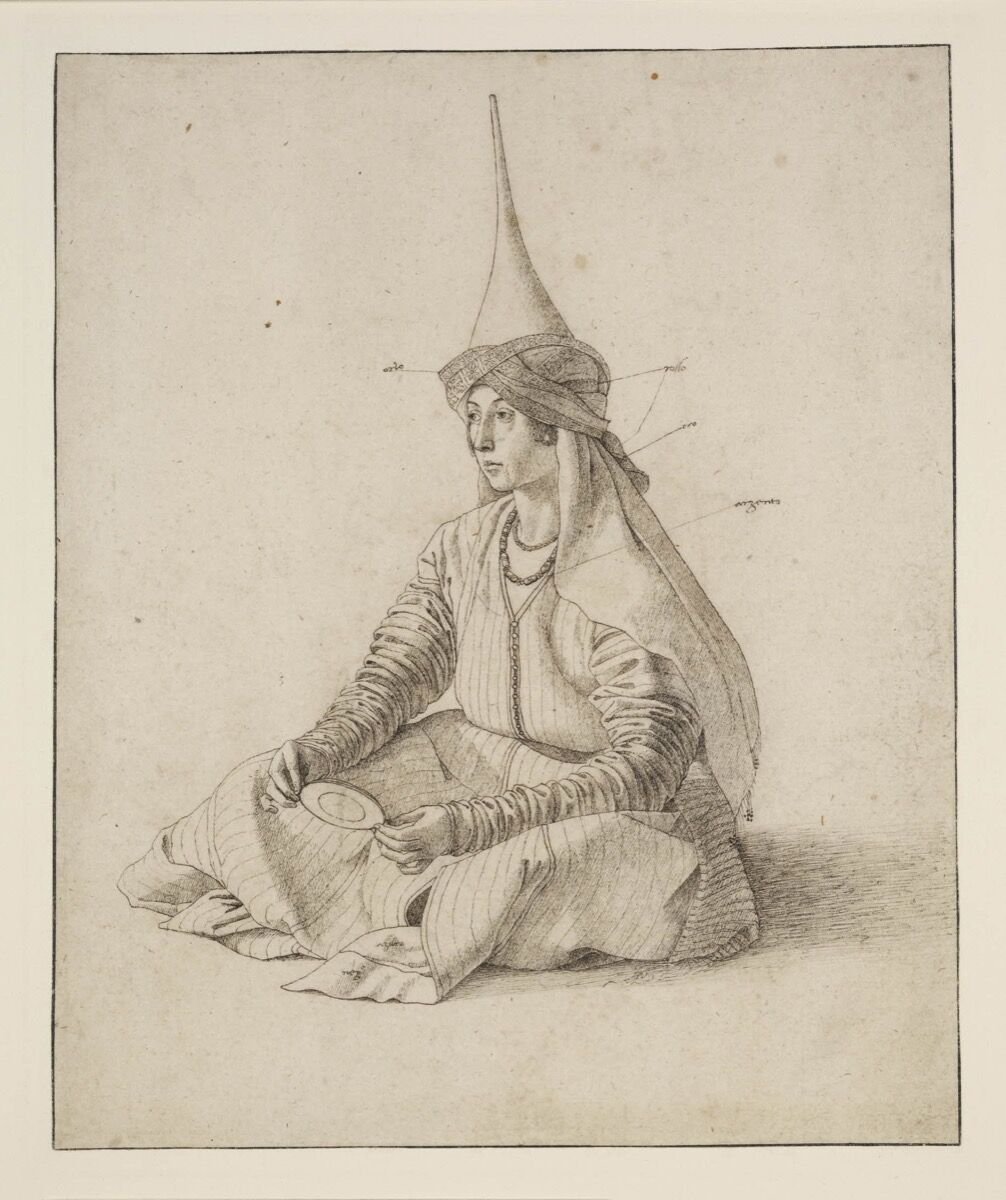 Gentile Bellini, A Turkish woman, c. 1480. Courtesy of the British Museum, London.