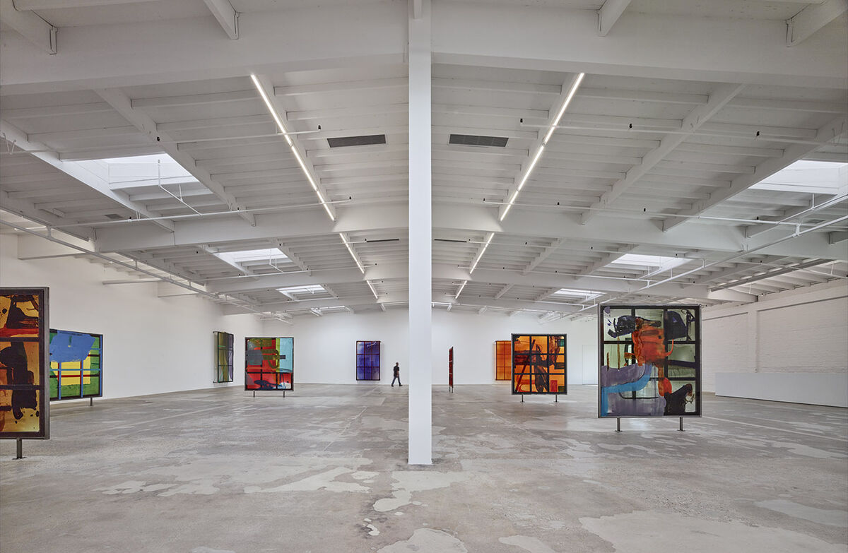 Maccarone's Boyle Heights space. Photo by Benny Chan. Courtesy of the artist and Maccarone New York/Los Angeles.