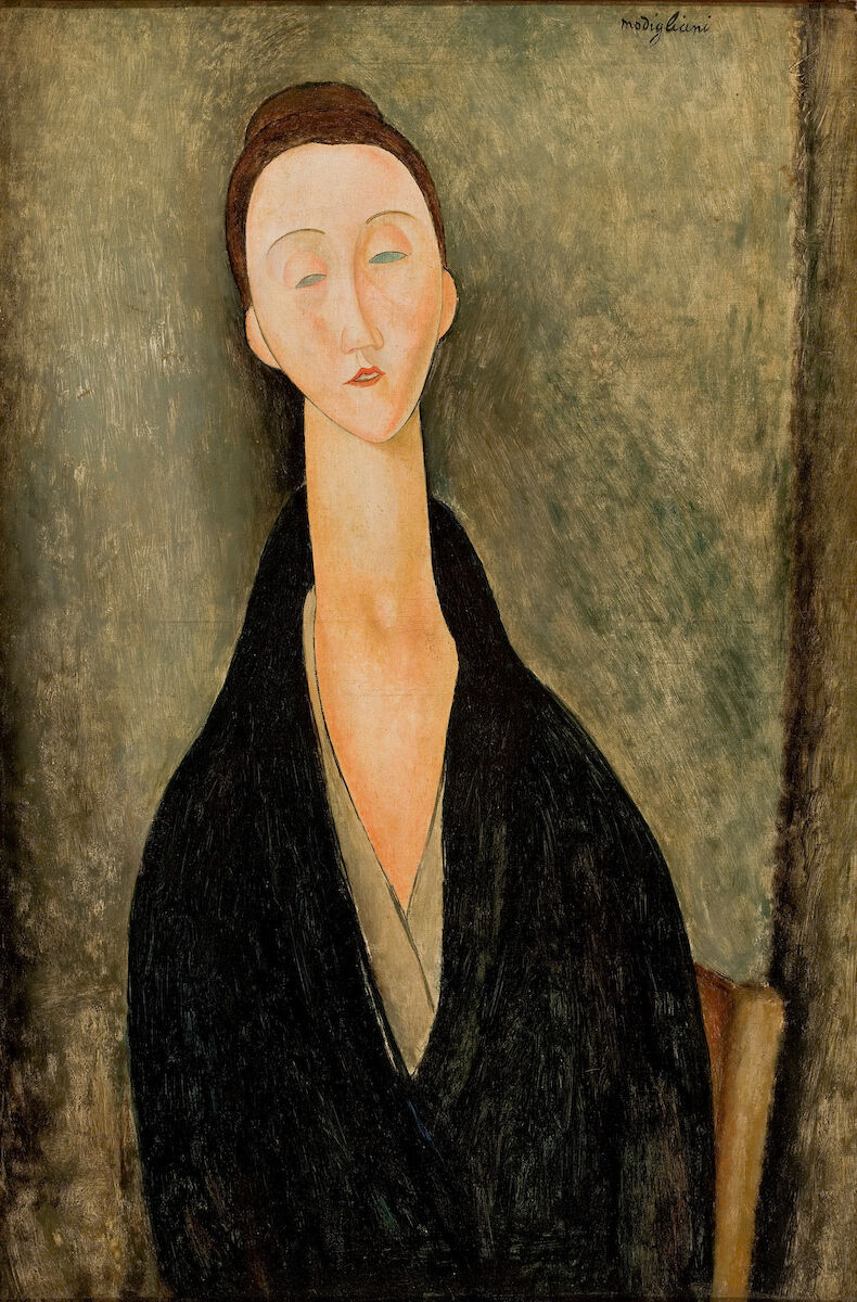 Amedeo Modigliani, Lunia Czechowska, 1919. Museu de Arte de São Paulo. Photograph by João Musa. Courtesy of the Jewish Museum.
