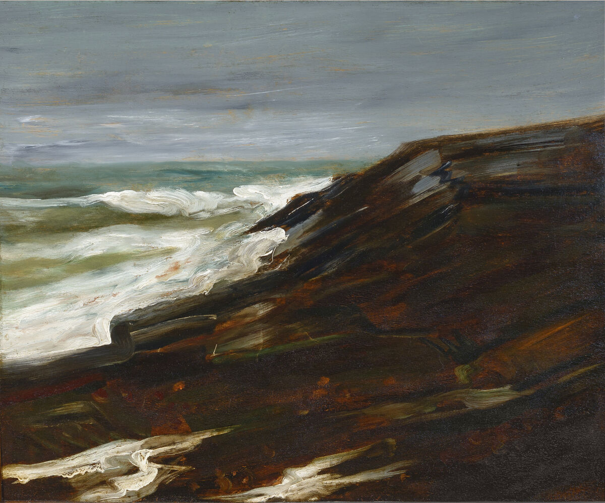 Untitled seascape, in the style of Winslow Homer, 19th century. Courtesy of the Winterthur Museum.