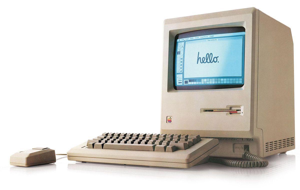 A 1984 Macintosh. Photo via Dave Winer on Flickr.
