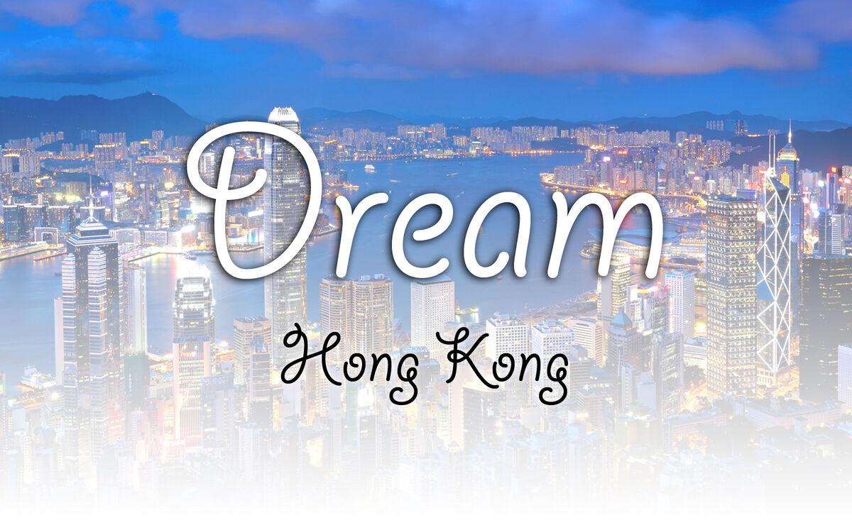 Dream Hong Kong homepage. Courtesy of Dream Hong Kong.
