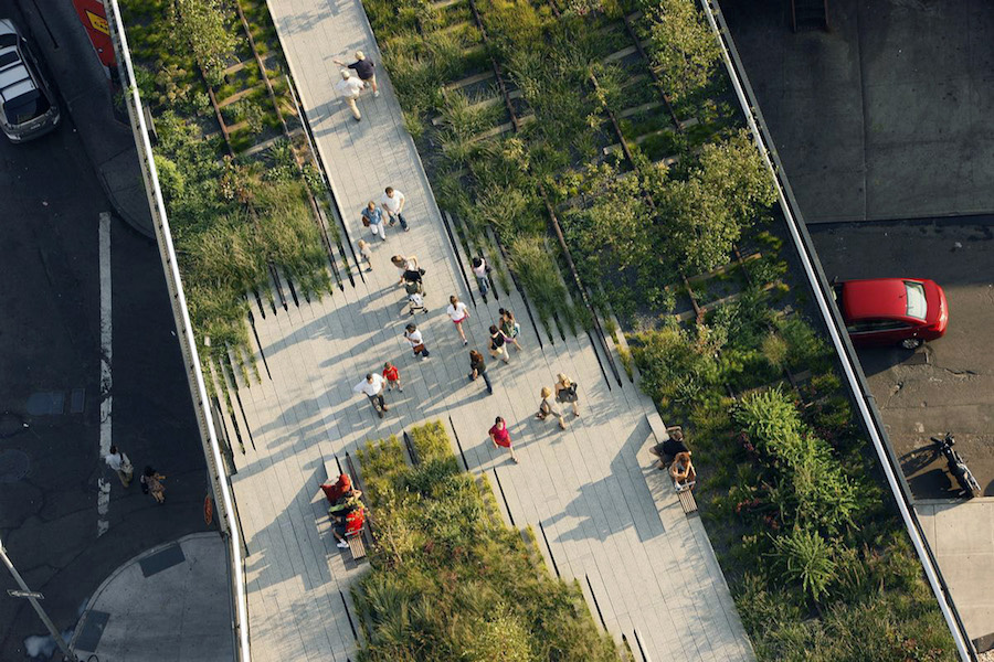 Diller Scofidio + Renfro, The High Line. Photo by Iwan Baan. Courtesy of Diller Scofidio + Renfro.