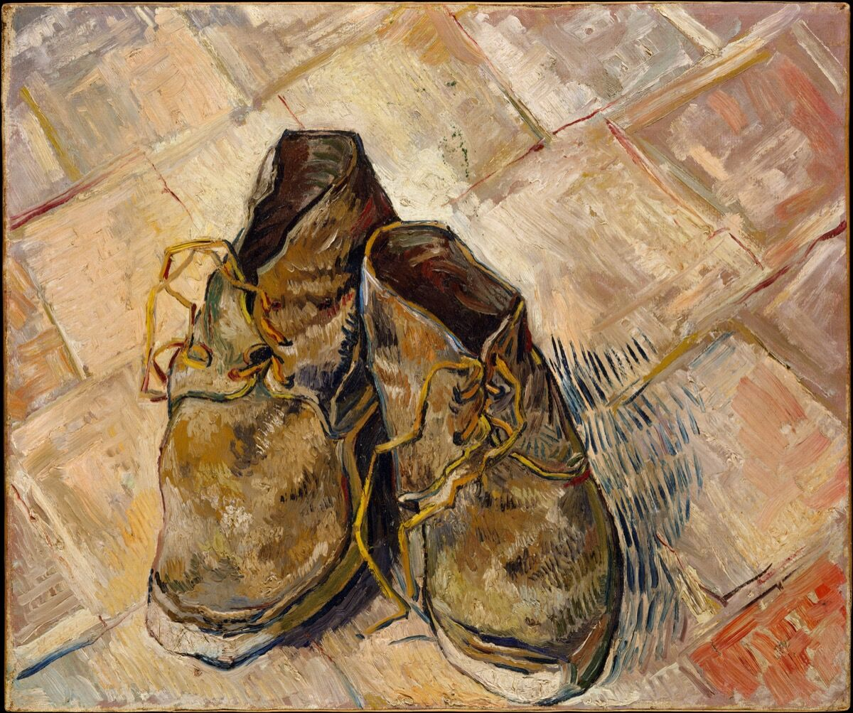 Vincent van Gogh, Shoes, 1888. Courtesy of the Metropolitan Museum of Art.