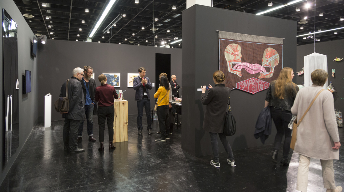 Installation view of KOW and Kraupa-Tuskany Zeidler's joint booth at Art Cologne, 2016. Photo courtesy of Art Cologne.