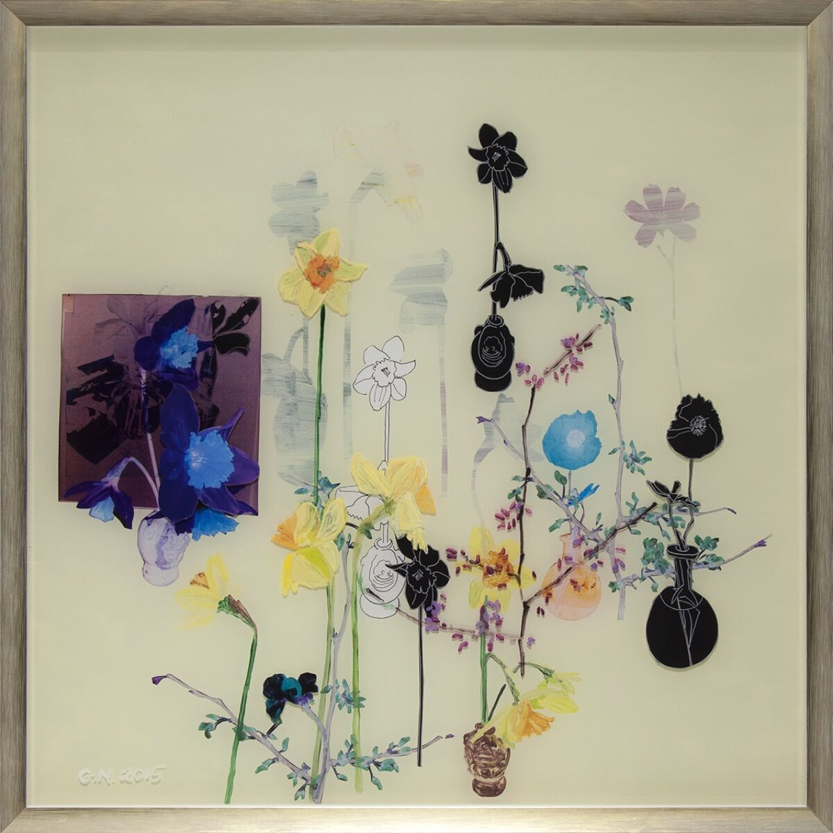 Gail Norfleet, Spring #1, 2015. Courtesy of Valley House Gallery.