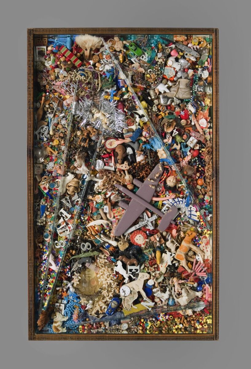 La Wilson, Homage to Jackson Pollock I, c. 1980. Courtesy of the Akron Art Museum.