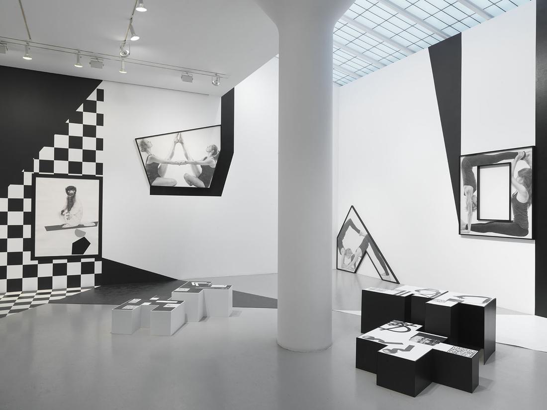 "Installation view ""Karl Haendel: Organic Bedfellow, Feral Othello."" Courtesy Mitchell Innes & Nash, New York."