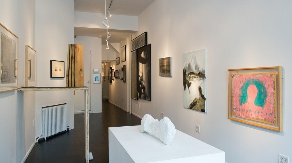 "Installation view of ""Gargle/Spit,"" TBD, New York. Courtesy TBD."