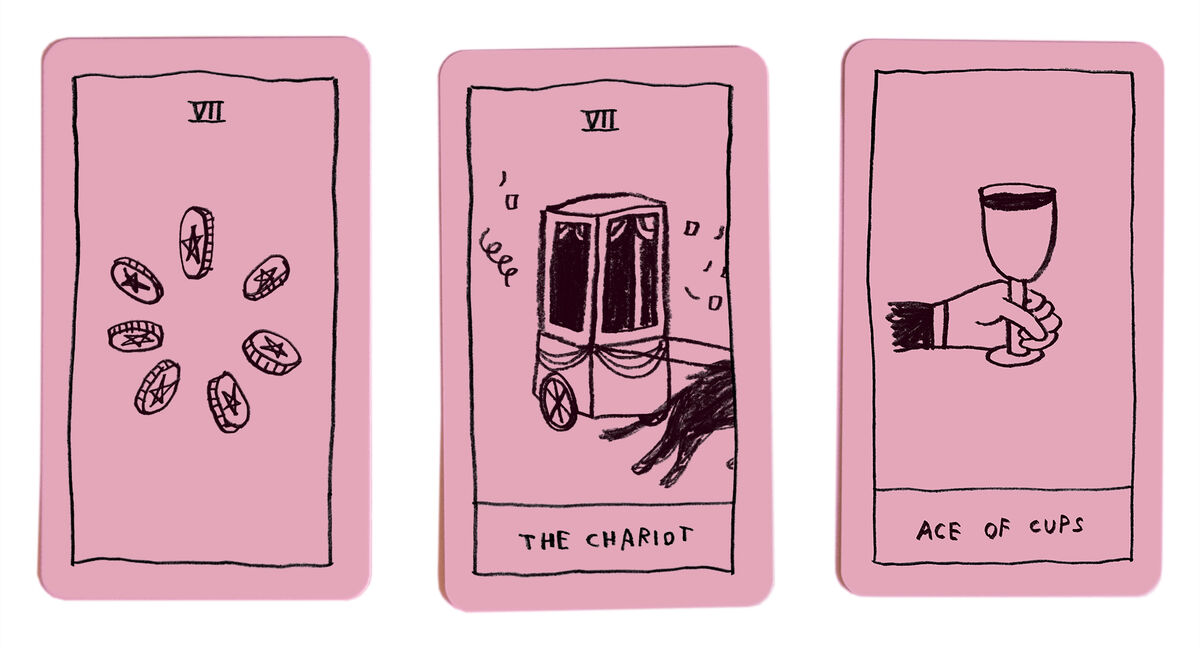 The OK Tarot deck, 2018. Courtesy of Adam J. Kurtz.