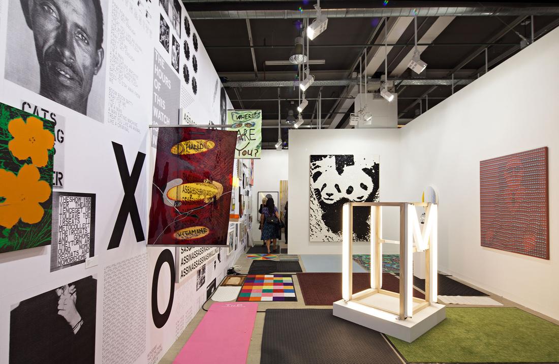 Gavin Brown at Art Basel 2015. Photo by Alec Bastian for Artsy.