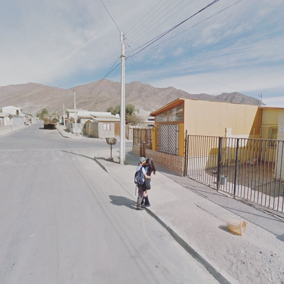 Chañaral, Atacama Region, Chile. Photograph by Jacqui Kenny via Google Street View.