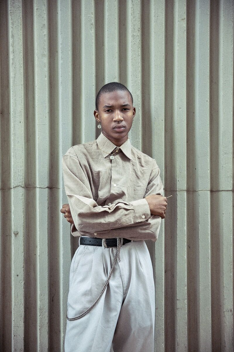 "Photo by Sipho Gongxeka, from the series ""House of Realness."" © Sipho Gongxeka. Courtesy of the artist."