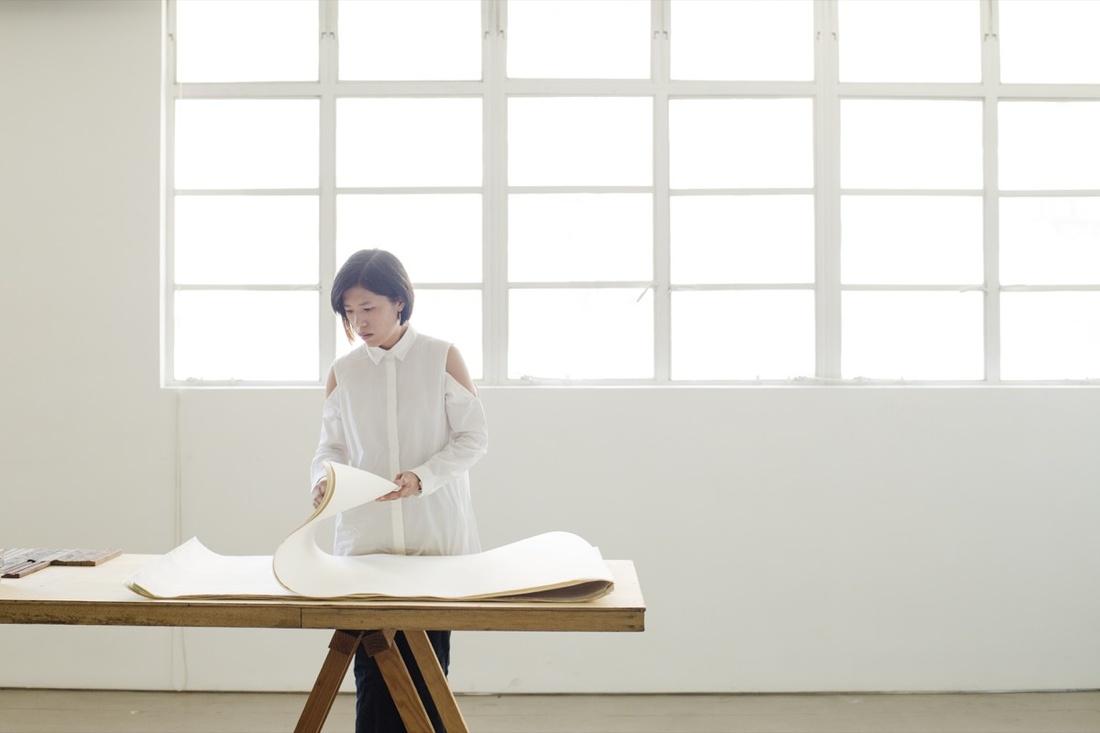 Portrait of Wong Wai Yin at Spring Workshop, Hong Kong, byAmandaKho for Artsy.