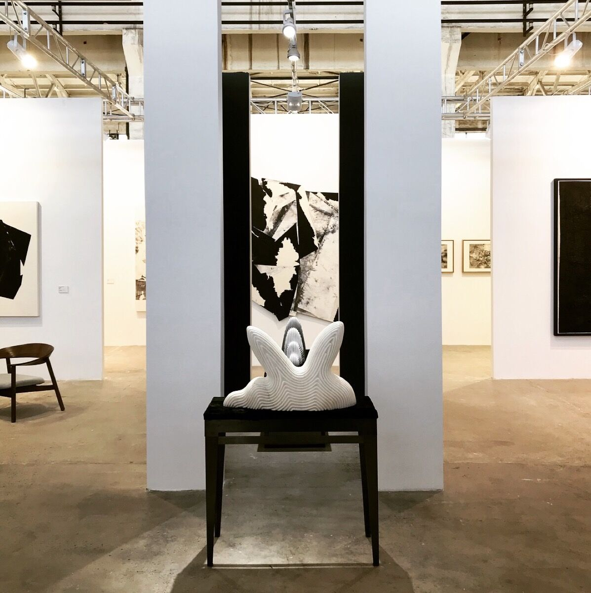 Installation view of Ink Studio's booth at West Bund Art & Design, 2017. Courtesy of Ink Studio.