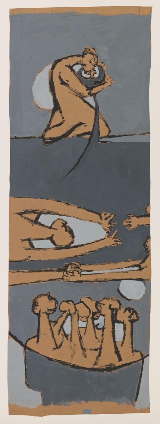 Luchita Hurtado,  Untitled,  ca. 1954. Courtesy of Hauser & Wirth.